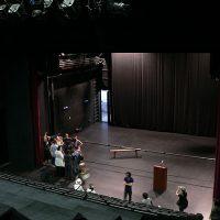 ゴルゴナ劇場 舞台仕込み